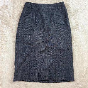 SALE 🌻 Mossimo Gray Plaid Pencil Skirt